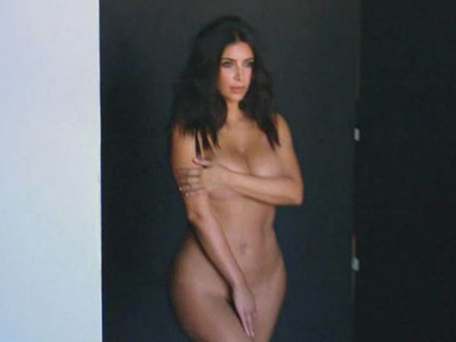Nude Picture Of Kim Kardashian 86